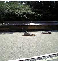 落ち着く石庭(^^)/