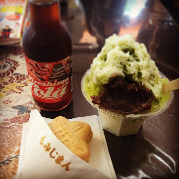 宮島のお菓子処