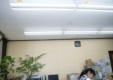 検査工程に威力を発揮するLED照明