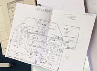 配線図なども紙に出力して管理していました。